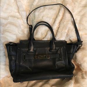 2017 Coach purse with cross body strap